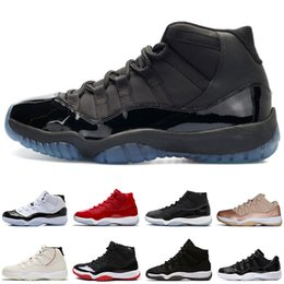 334fbb6728a88a High Gamma Blue 11 11s Bred mens Basketball Shoes Gym Red Space Jams 45 Low Georgetown  men Sport Sneakers trainers designer size US5.5-13