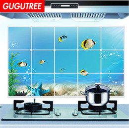 3d oil paint Australia - Decorate home 3D kitchen oil proof cartoon art wall sticker decoration Decals mural painting Removable Decor Wallpaper G-2566