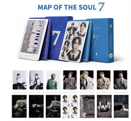 20boxes lot free shipping bts map of the soul 7 new version lomo card on Sale