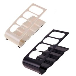 Wholesale 4 Cell Acrylic Storage Rack Remote Control Organizer Phone Holder Stand Rack Desktop Remote Control Holder Simple Home