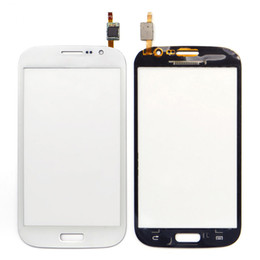 Parts For Glasses Australia - 50pcs OEM Touch Screen Digitizer Front Glass panel Replacement Parts For Samsung Galaxy Grand Neo Plus i9060i i9060 i9062 by DHL EMS