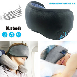 $enCountryForm.capitalKeyWord Australia - 2019 New Wireless Stereo Bluetooth Earphone Sleep Soft Sleeping Eye Mask Music Headset Wireless Headphones Blutooth Earphone hot