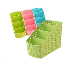 $enCountryForm.capitalKeyWord Canada - Plastic 4 Grids Desktop Display Office Box Storage Case Cosmetic Organizer