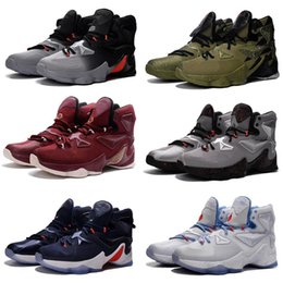 competitive price dadea ae7ea What the Lebron 13 mens Outdoor shoes for sale MVP Christmas BHM Blue  Easter Halloween Akronite DB boots with Size 7 12