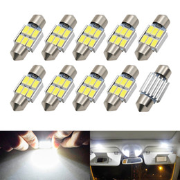 auto map lights Australia - C5W C10W Festoon 31mm LED Bulbs CANBUS 5630 SMD White For Car Auto Interior Dome Map Reading Lamp License Plate Lights DC 12V