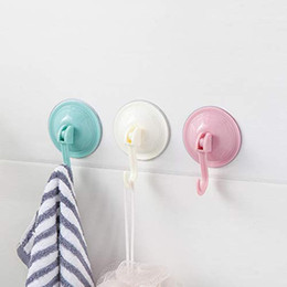 suction cup towel holder NZ - Suction Cup Hooks Kitchen Towel Hooks Removable Wall Vacuum Holder For Smooth Tile Glass And Mirror Fashion
