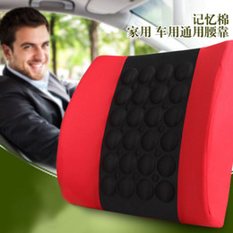 Lower back supports online shopping - Lumbar Cushion Lower Back Support Pillow for V electric Car Seat Office Chair Soft Memory Foam Massager Waist Cushion Pillow