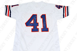 new songs 2019 - wholesale Brian Piccolo #41 Brian's Song Movie New Football Jersey White Stitched Custom any number name MEN WOMEN