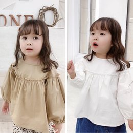 $enCountryForm.capitalKeyWord Australia - New Spring Baby Girls Blouse Kids Long Sleeve Tops Shirt Children Girl Princess Blouses 14637