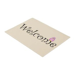 Discount welcome mats doormat - Welcome Owl Mat Home City Rustic Doormat Home Decoration Entry Non-slip Door Mat Rubber Washable Floor