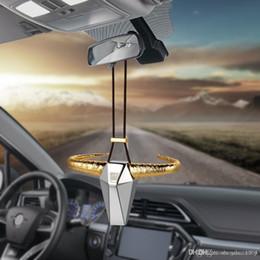 $enCountryForm.capitalKeyWord Australia - Car Pendant Zinc Alloy OX Horn Rearview Mirror Decoration Auto Bull Hanging Ornament Automobiles Interior Decor Accessories Gift
