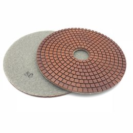 "granite glasses Canada - 6"" 150mm DIAMOND Resin Grinding POLISHING Pad Granite Concrete Marble Stone Glass Tile"