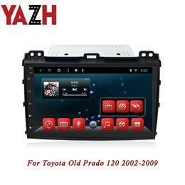 car gps for toyota prado Australia - YAZH Android Car DVD Players For Toyota Old Prado 120 2002 2003 2004 2005 2006 2007 2008 2009 GPS Glonass Navigation Radio Audio