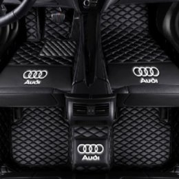 Audi A8l Australia - Car mats are suitable for Audi A8 A8L 2006-2010 non-slip environment-friendly tasteless nontoxic mats