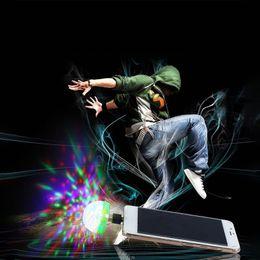$enCountryForm.capitalKeyWord Australia - New USB Port LED RGB Disco Stage Light Party Club DJ KTV Portable Magic Phone Ball Lamp 3 USB port Ball Lamp