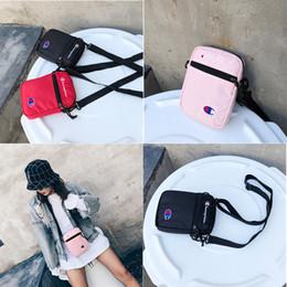 Funny shoulder bags online shopping - Champion Shoulder Bags Nylon Messenger Bags Men Women Handbag Chest Waist Bags Unisex Travel Funny Pack Wallet Purse B383