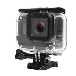 gopro housing NZ - Gopro Hero 7 6 5 Accessories Waterproof Protection Housing Case Diving 40M Protective For Go pro Hero 6 5 Sport Camera