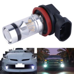Vehicle side lights online shopping - HOT Super Bright W LM XBD H11 LED Fog Light Car Vehicle Head Light Car Side Wedge Tail Lamp Bulb
