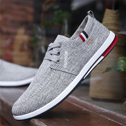 $enCountryForm.capitalKeyWord Australia - Summer old Beijing shoes men soft bottom breathable Korean style casual shoes work men's canvas