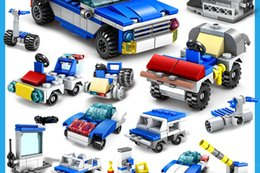 $enCountryForm.capitalKeyWord NZ - Wholesale childrens puzzle building blocks toys plastic DIY assembled urban police series of large particle scene toys