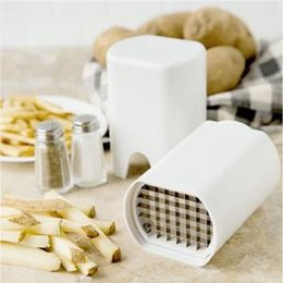Potato chiPs cutters online shopping - French Fries Potatoes Cutter Cut into Strips Kitchen Tools Gadgets Multi function vegetable cutter Chip cutting machine VVA333
