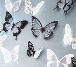 $enCountryForm.capitalKeyWord Australia - 18Pcs Wallpapers 3D Crystal Butterflies DIY home decor for kids room Christmas party decoration kitchen refrigerator decal