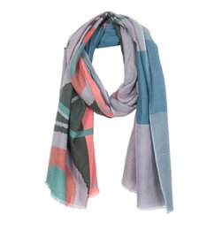Chinese  Luxury Brand Silk Cashmere scarf for Women 2018 New Designer Hemming Long Scarves Shawls Wrap With Tag 200*70cm Shawls B-40-884 manufacturers