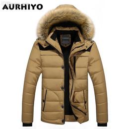 Famous Parka Brands Australia - Fall-W102 2016 Men Winter Jackets Coats Warm Down Jacket Outdoor Hooded Fur Mens Thick Faux Fur Inner Parkas Plus Size Famous Brand