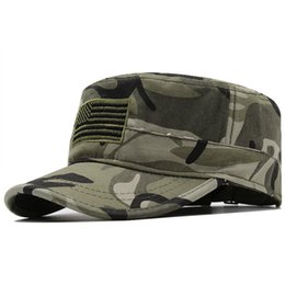 american flag women hat 2020 - Men Women Fashion Hat camouflage Special Forces Mask American flag Hat Cap Gorras Militares Boina Sailor Bone Gorro chea