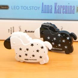 Horse Stationery Australia - Cute Black White Horse Correction Tape Correction Fluid Stationery Student Gift School Supplies