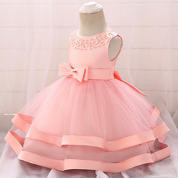$enCountryForm.capitalKeyWord Australia - Top Grade Lace Girl Dress Baptism Dresses For Girls 1st Year Birthday Party Wedding Christening Baby Infant Clothing Bebes Q190518