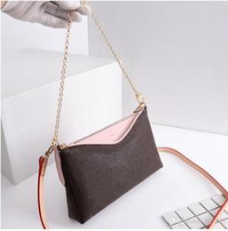 Crossbody ClutCh Chain strap online shopping - luxury handbag fashion crossbody women bag favorite design chain clutch leather strap