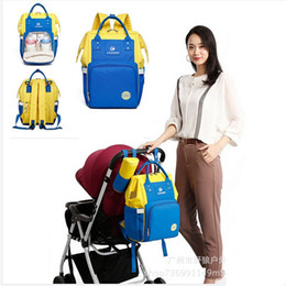 Backpack For Mother Baby Australia - Stroller bag backpack baby diaper bags nappy mother maternity mommy wet infant for baby care organizer bag for kids