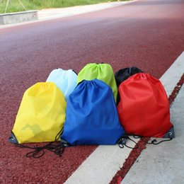 Wholesale Frozen Clothing Australia - Dry Bag Children's Clothing Shoes School Drawstring Frozen Sports Fitness PE Dance Backpack Pregnant Women Shopping Bag Diaper Bags