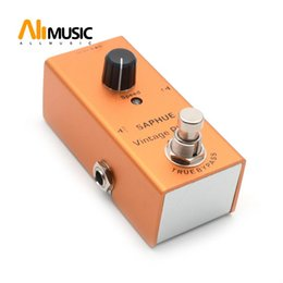 vintage effect pedals NZ - SAPHUE Electric Guitar Vintage Phase Pedal Speed Knob Effect Pedal Mini Single Type DC 9V True Bypass