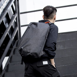 Large Packs Australia - Sport Outdoor Packs large capacity day packs Oxford cloth waterproof men bags shoulder bags cross body chest notebook bags USB charge