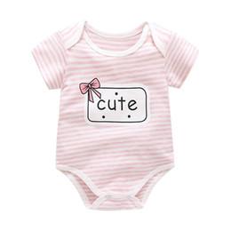 Infant Sleepwear Summer Australia - good quality 2019 new baby girls rompers cotton summer infant boys sleepwear clothing overalls for newborn toddler jumpsuit