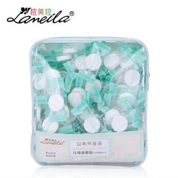compress mask wholesale Canada - LAMEILA 100pcs Compressed Mask Cotton Facial Sheet DIY Skin Face Care Wrapped Masks Paper Ultra-thin Breathable Beauty Spa Tools