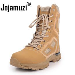 Combat uniform online shopping - Army Men s Outdoor Desert Combat Tactic Mid calf Boots Tactical Hiking Boots Botas Hombre Zapats Uniform