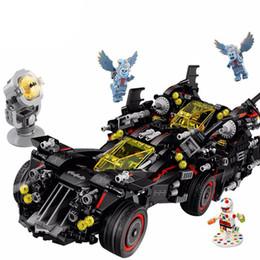 Batman Blocks Australia - Legoing Batman The Ultimate Batmobile Genuine Movie DC Super Heroes Blocks Toy Gift Compatible Batman Legoing