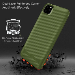 $enCountryForm.capitalKeyWord Australia - Carbon Fiber Soft TPU Impact Armor Case For iphone XR X XS Max 7 8 Plus XIR XI 2019 Silicone Protective Back Cover