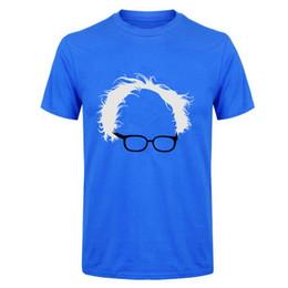 $enCountryForm.capitalKeyWord UK - Best T Shirt Designs Short Sleeve Summer Crew Neck Bernie Sanders Hair Glasses Tee Shirt For Men