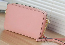 white rose gold bag NZ - Designer Handbags 2018 New Medium Rose Red Khaki Women Fashion Leather Pu Totes Shoulder Bag Cross Body