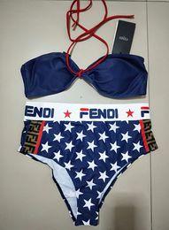 f00e95595 2019 FF Designer De Luxo Senhoras Praia Um Conjunto Bikini Underwear  Swimwear Mulheres Swimsuit Sexy Maiôs Sexy Two-piece Swimsuits
