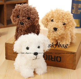 $enCountryForm.capitalKeyWord Australia - NEW Super Cute 3Colors - LONG Hair little dogs Plush Stuffed TOY DOLL , 10cm approx. key chain doggies plush toys