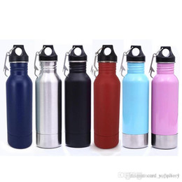 Großhandel Bierflaschen Isolator Keeper Edelstahl Bierflaschenhalter Armor Koozie Isolator mit Flaschenöffner 6 Farben