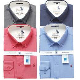 $enCountryForm.capitalKeyWord Australia - Wholesale 2019 luxury New Spring Men Shirt Lattice Design Korean Style Casual Mens Plaid Shirts Man Long Sleeve dress men shirts M-4XL