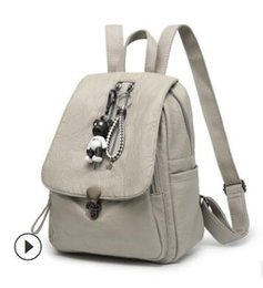 $enCountryForm.capitalKeyWord Australia - Backpacks female summer hot style lock anti-theft backpacks Korean version trend of fashion mummy bag manufacturers foreign trade who 002