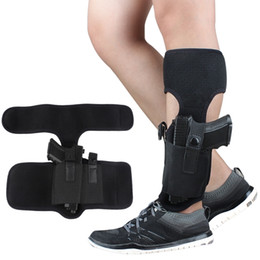 Multifunction Ankle leggings Holster for Concealed Carry Outdoor Tactics Pistol cover and extra magazine case Black. on Sale