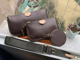 venda por atacado Mulheres Tote Shoulder Handbag 3pcs Set Satchel Handbag Top-Handle Crossbody bolsa de embreagem